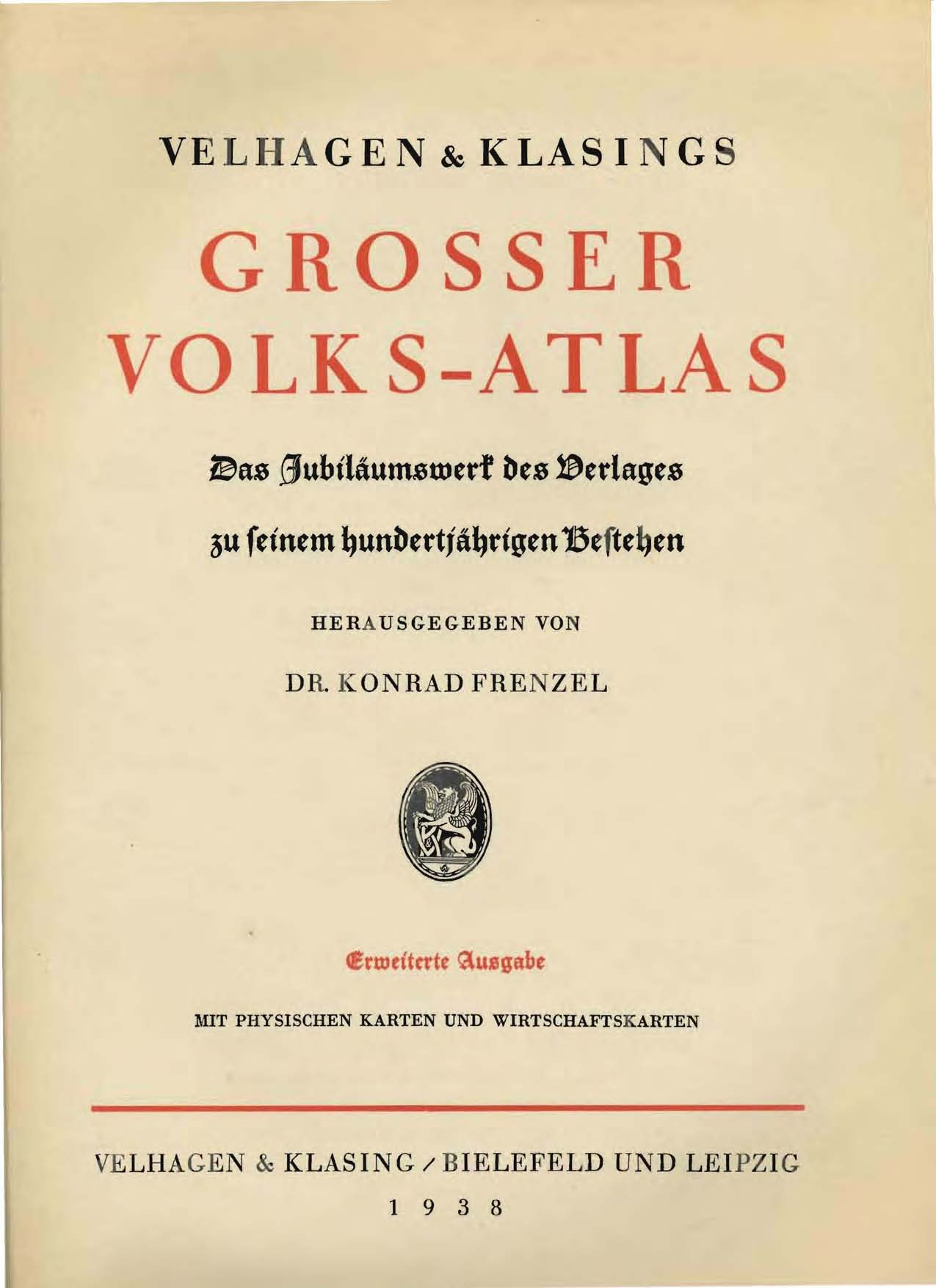 Grosser Volks-Atlas
